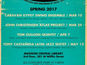 "The Greater Madison Jazz Consortium's Spring ""InDIGenous Jazz"" Concert Series"