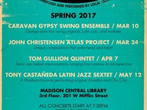 "The Greater Madison Jazz Consortium's Spring ""InDIGenous Jazz"" Concert Series"