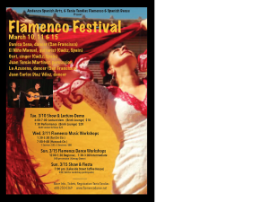 Flamenco Fest 2015 March 10th-15th