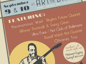 Sept. 9 thru 10, 2016 – Midwest Gypsy Swing Fest