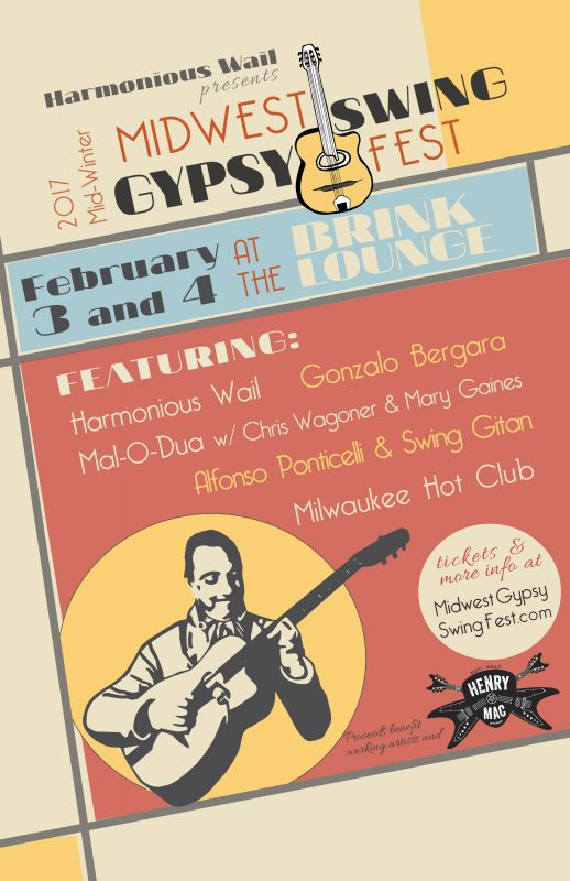Midwest Gypsy Swing Fest Poster