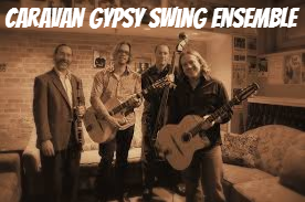 "March 10th, 2017 – ""INdigENOUS Jazz"" Concert With The Caravan Gypsy Swing Ensemble"