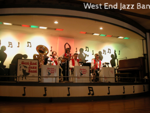 October 1st, 2017 – West End Jazz Band presented by the Madison Jazz Society